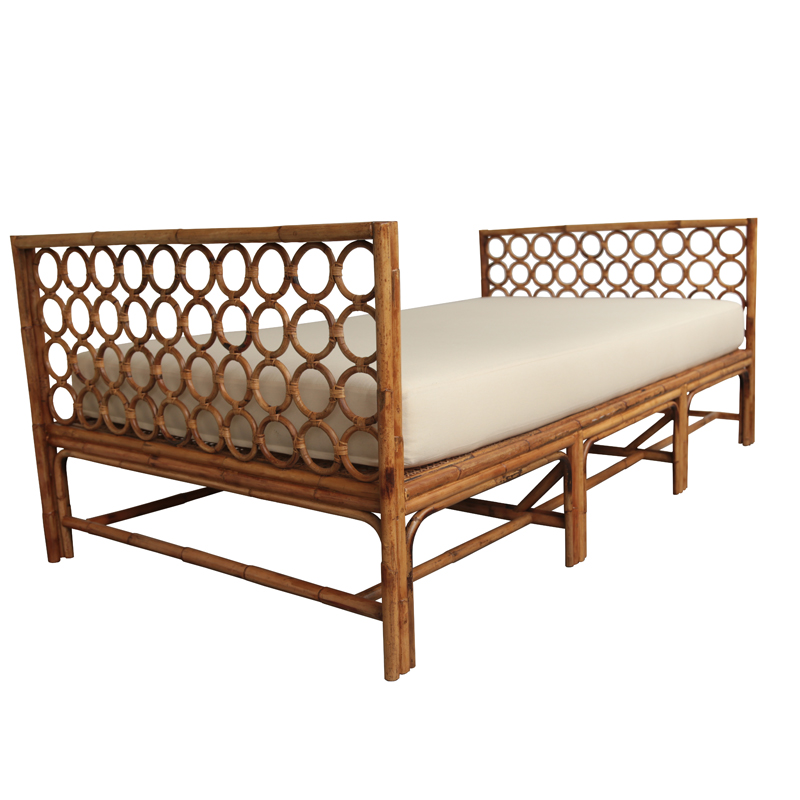 Moderne Maru Daybed w/Stock Canvas Cushion