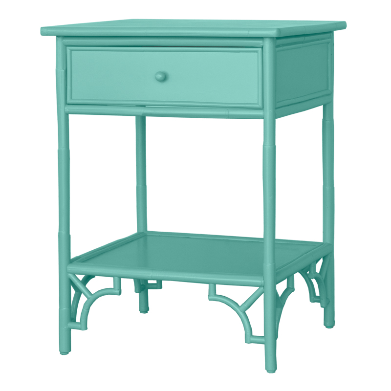 Indochine Table – Nightstand w/ drawer