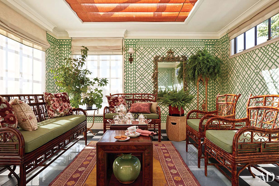 July 2015 Architectural Digest Michael Smith