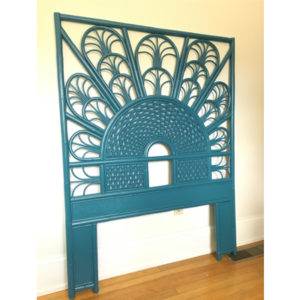 Peacock Bed Headboard