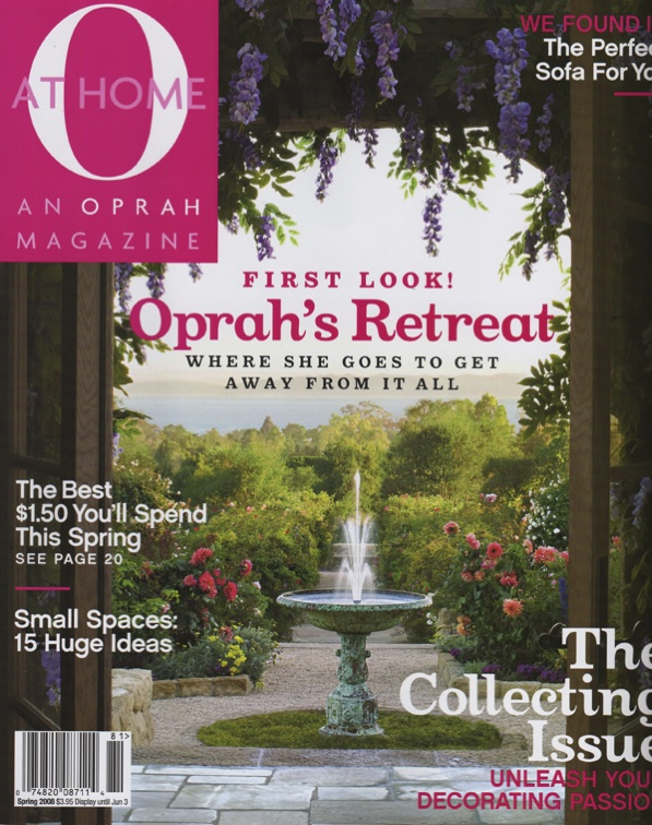 Spring 2008 O At Home Cover