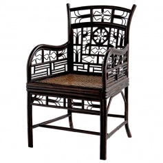 Indochine Arm Chair Mandarin