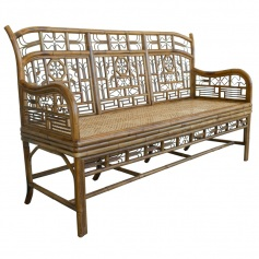 Indochine Triple Settee