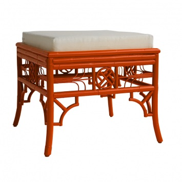 Indochine Ottoman Hearty Orange