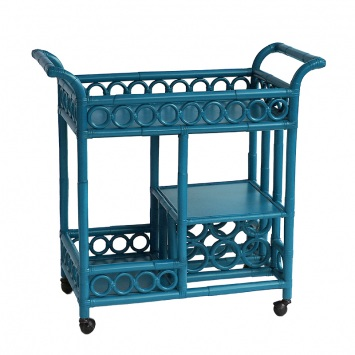 Moderne Maru Bar Cart Blue Nile