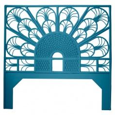 Moderne Maru Peacock Headboard