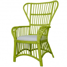 Indochine Wing Back Chair