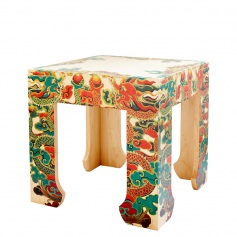 Shanghai Loft Table – Bunching Tattooed