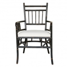 Moderne Maru Chair – Zen Arm Stock Canvas Seat