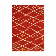 Carol Gregg Rug Kite Plaid