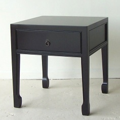 Double Happiness End Table with Drawer