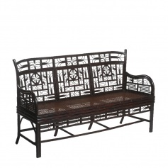 Indochine Chair Settee – Triple