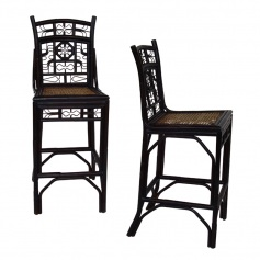 Indochine Bar Stool & Counter Stool