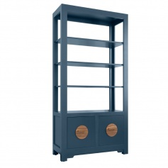 Shanghai Loft Etagere with Double File Drawers