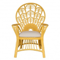 Moderne Maru Chair – Peacock High Back