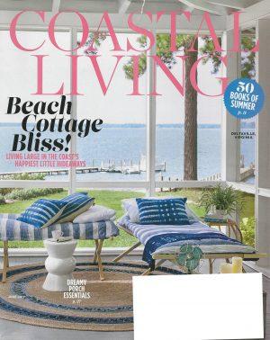 coastal living june 2017 cover