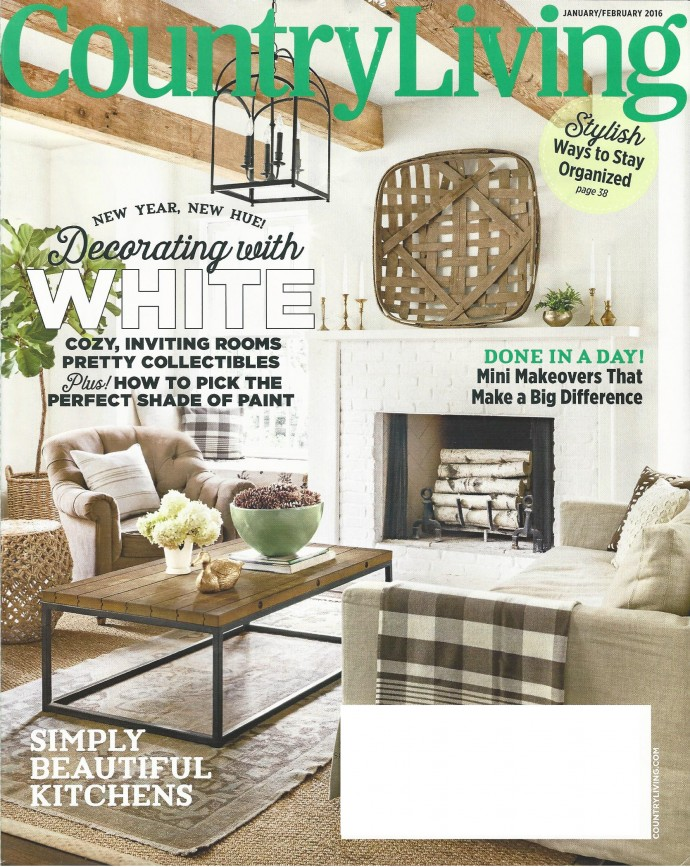 country living 0116 cover